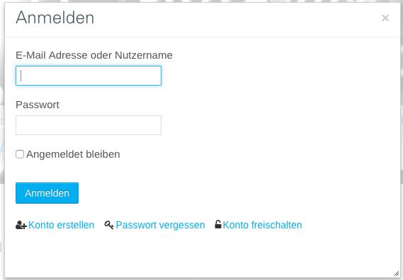 Passwort vergessen [GWDG /docs]