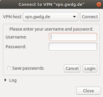 VPN on Linux [GWDG /docs]